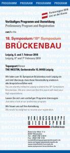 18. Symposium Brückenbau in Leipzig @ The Westin Leipzig | Leipzig | Sachsen | Deutschland