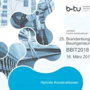 25. Brandenburgischer Bauingenieurtag BBIT2018