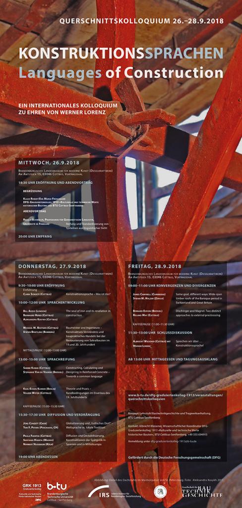 Kolloquium Konstruktionssprachen