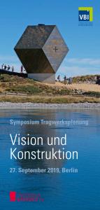 Vision und Konstruktion 2019